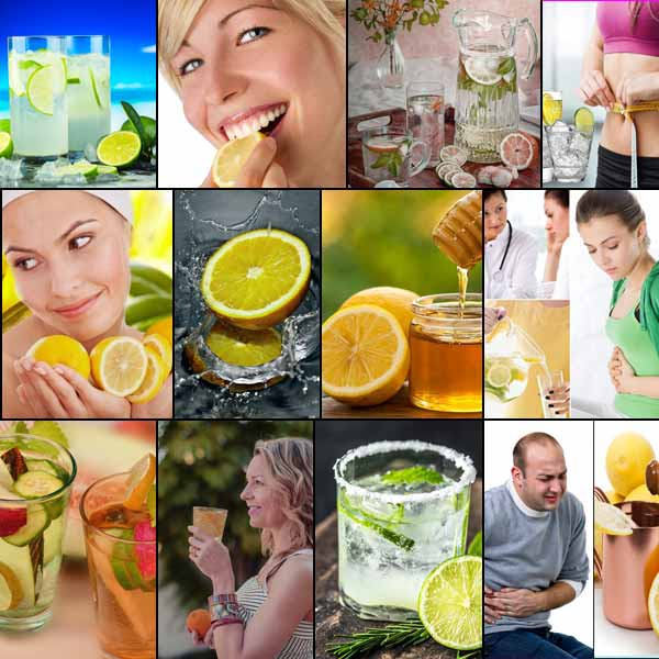 Benefit of drinking lemon water