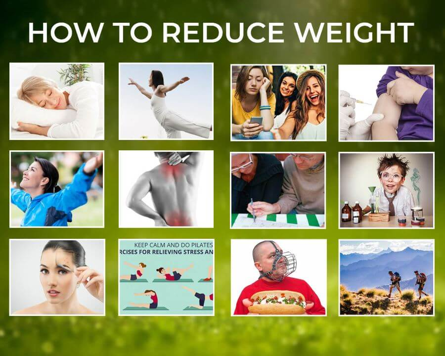 How to Lose Weight or How to reduce Weight