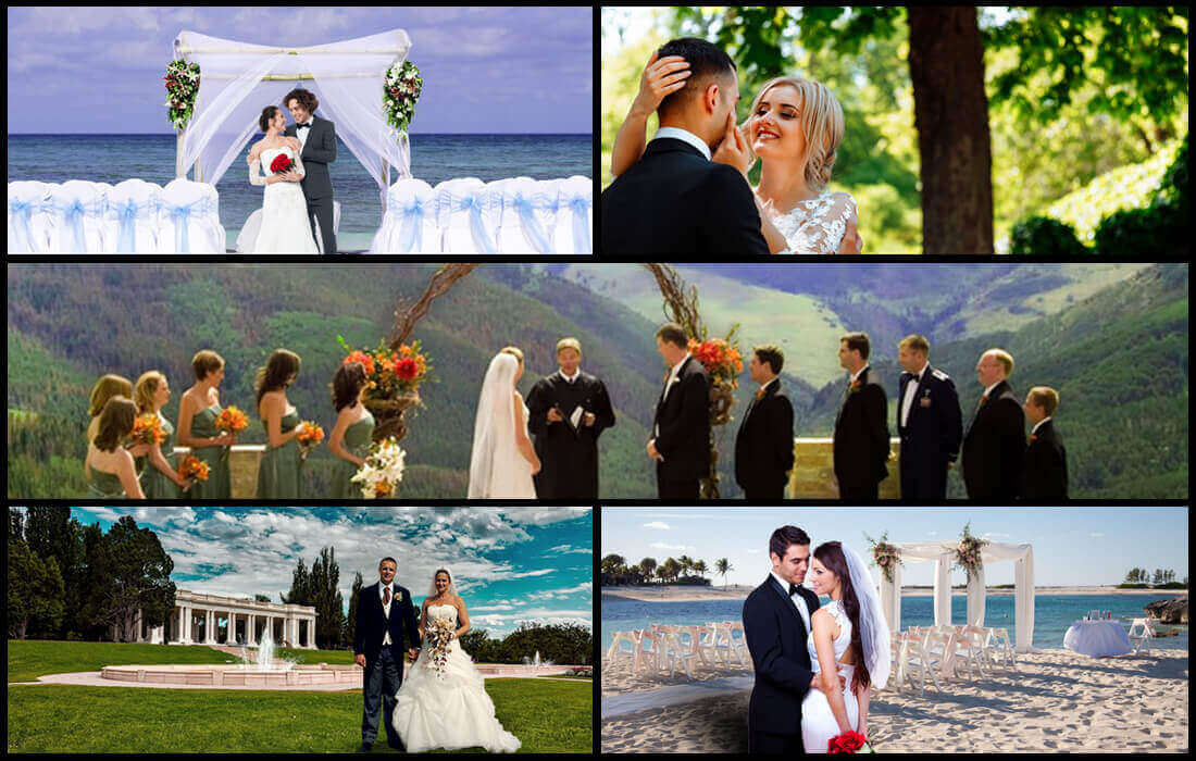 Best places for destination wedding