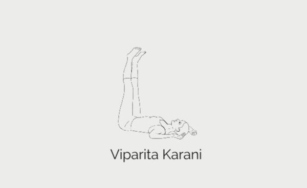 Viparita Karani