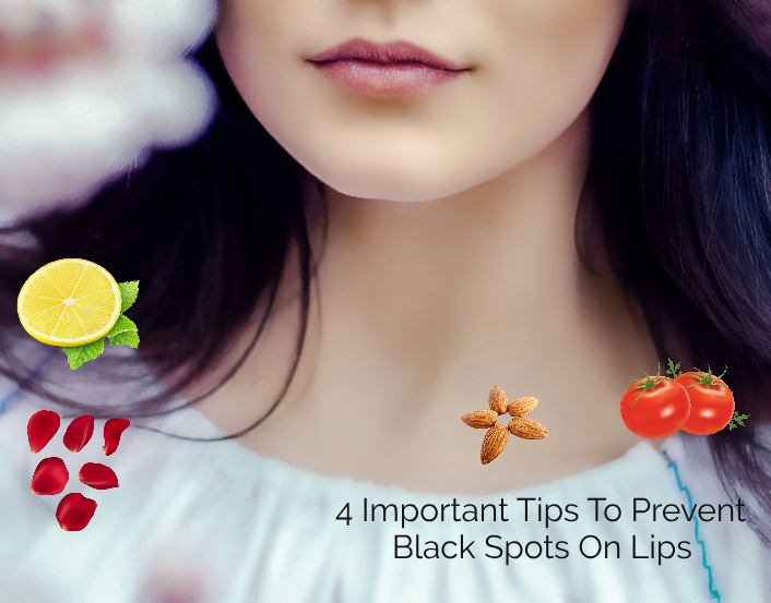 4 Important Tips To Prevent Black Spots On Lips