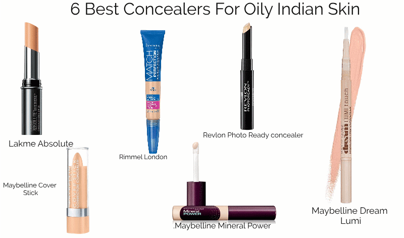 6 Best Concealers For Oily Indian Skin